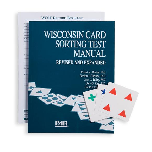 위스콘신 카드 분류검사 (WCST)
